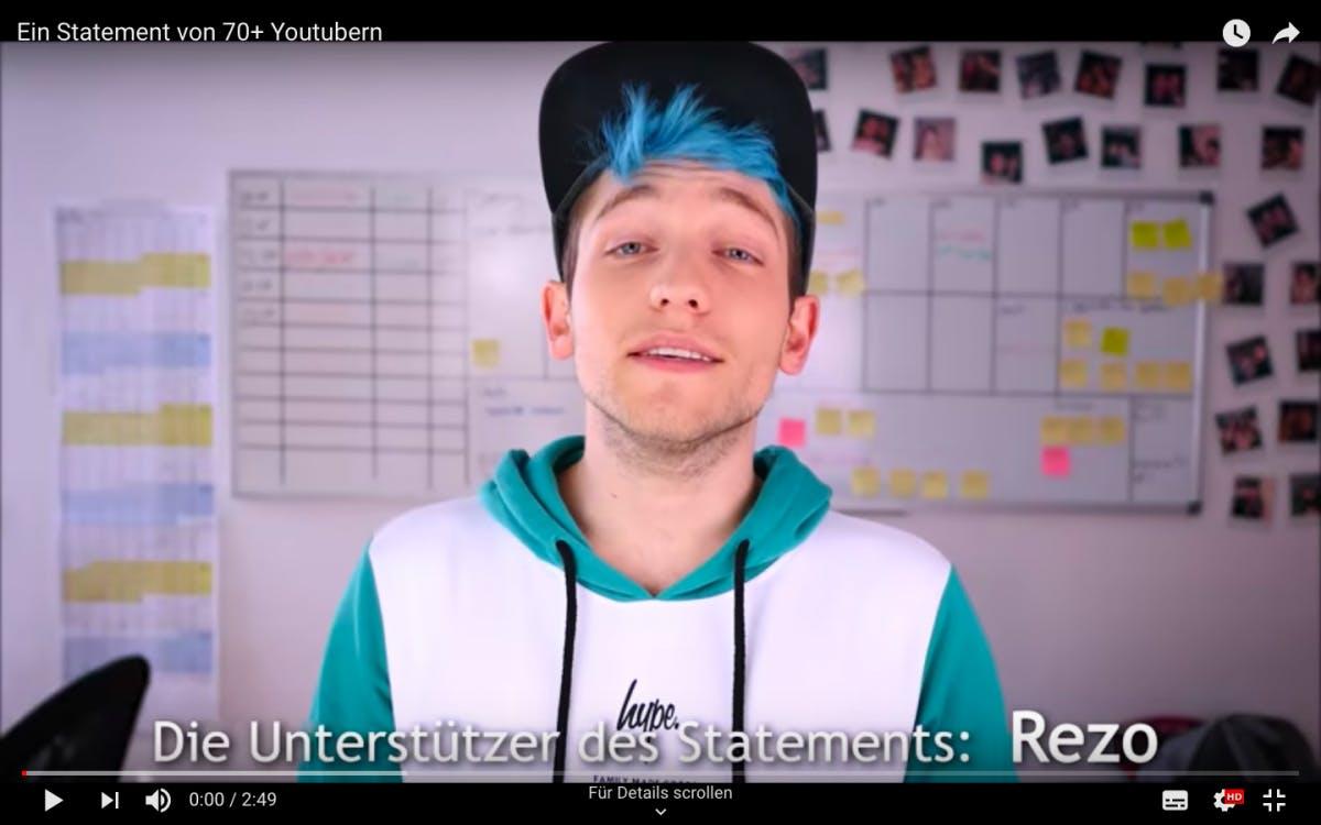 """""""Wählt nicht die CDU"""": Rezo legt nach – mit Hilfe der bekanntesten Youtube-Stars Deutschlands"""