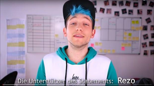 """""""Wählt nicht die CDU"""": Rezo und viele weitere Youtube-Stars legen nach"""