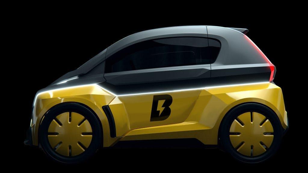 Bolt Nano: Ex-Sprintstar Usain Bolt präsentiert Elektroauto à la Renault Twizy vor