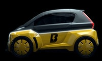 Bolt Nano: Usain Bolt stellt Elektroauto à la Renault Twizy vor