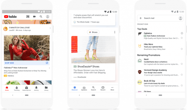 Discovery Ads im Feed von Google Discovery