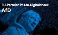 Europawahlprogramm im Digitalcheck: Das will die AfD