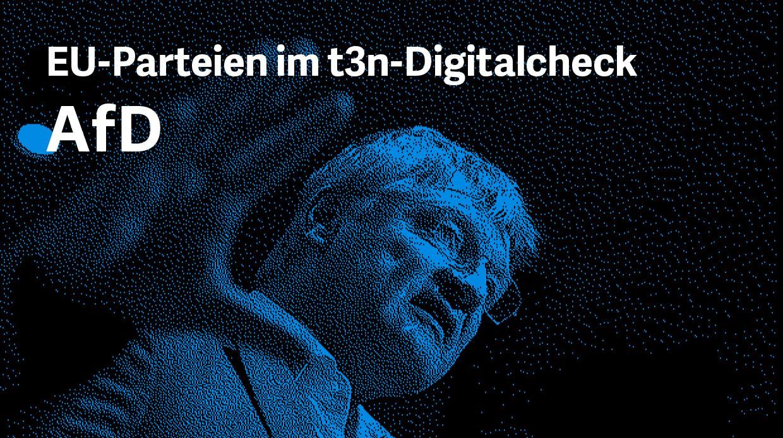 AfD EU-Wahlcheck Digitalcheck 2019 (Grafik: t3n)