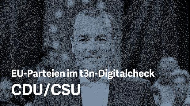 Europawahlprogramm im Digitalcheck: Das will die CDU/CSU