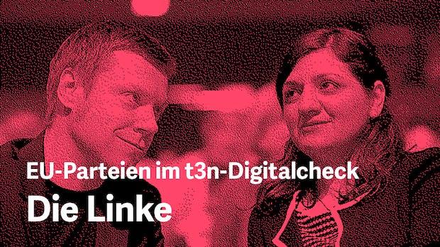 Europawahlprogramm im Digitalcheck: Das will die Linke