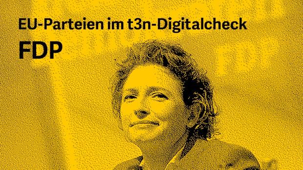Europawahlprogramm im Digitalcheck: Das will die FDP