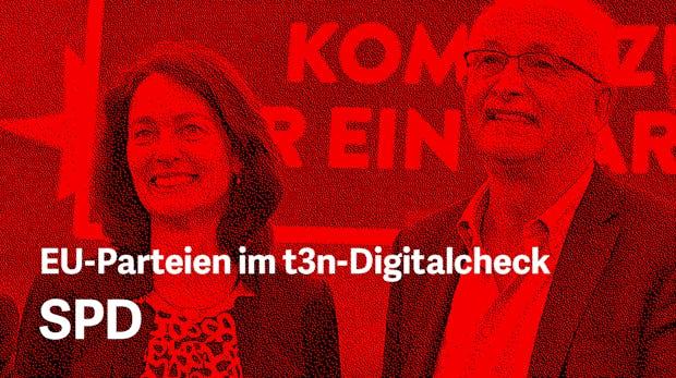 Europawahlprogramm im Digitalcheck: Das will die SPD