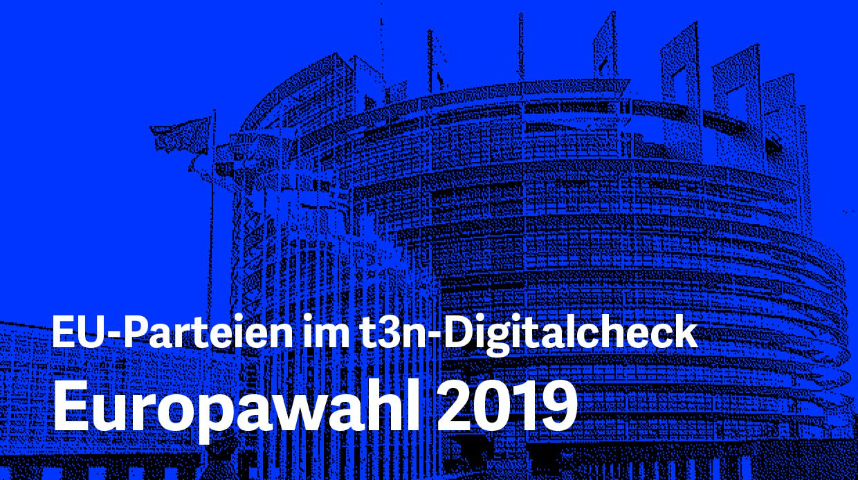 Europawahl 2019: Alle Programme der großen Parteien im t3n-Digitalcheck