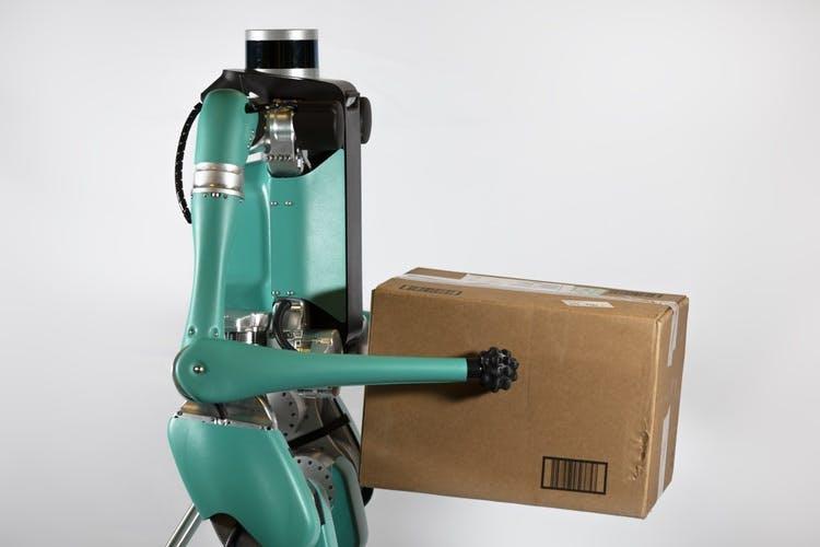 Wenn der Roboter 2 Mal klingelt: So will Ford die Lieferung autonom machen