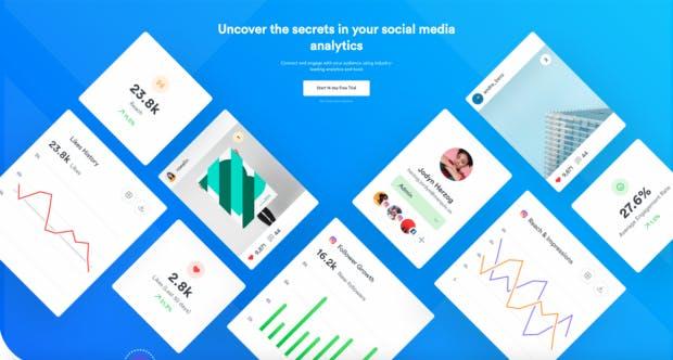Iconosquare, Tool für Instagram