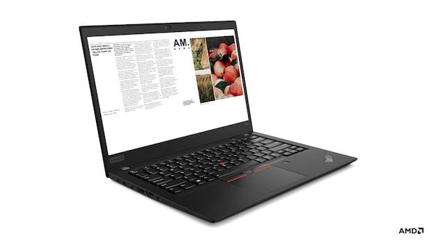 Lenovo Thinkpad T495s. (Bild: Lenovo)