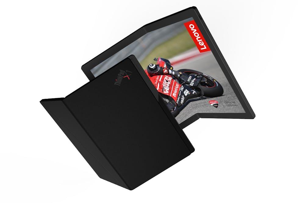 Lenovo Thinkpad X1 Foldable. (Bild: Lenovo)