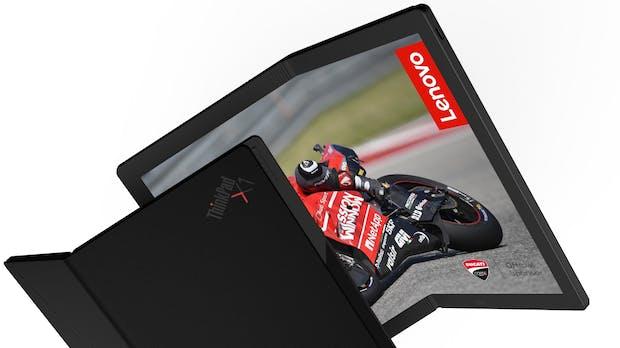 Thinkpad X1 Foldable: Lenovo präsentiert ersten faltbaren Laptop der Welt