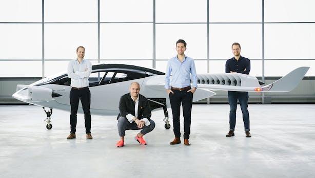 Lilium schickt erstmals sein fünfsitziges Flugtaxi in die Luft