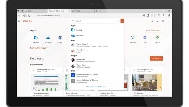 Microsofts neue Suche. (Bild: Microsoft)