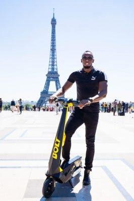 Usain Bolt startet E-Scooter-Dienst in Paris