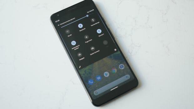 Android 10 Q: Der Dark Mode ist da. (Foto: t3n)