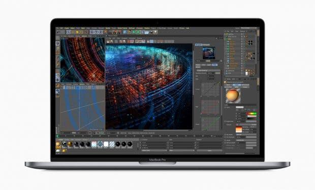 Apple Macbook Pro mit Touch-Bar kommt mit bis zu acht Core-i9-Prozessorkernen. (Bild: Apple)