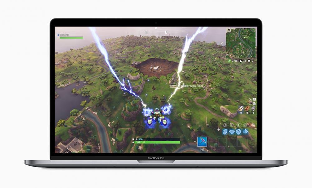 Apple Macbook Pro mit Touch Bar 2019. (Bild: Apple)