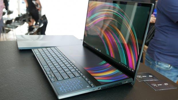 Zenbook Pro Duo: Asus' High-End-Notebook mit zwei 4K