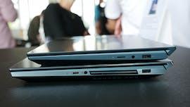 Asus Zenbook Pro Duo (unten) und Zenbook Duo. (Foto: t3n)