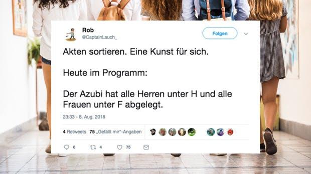 Azubis: 10 Tweets, die zeigen, dass sie die witzigsten Kollegen sind