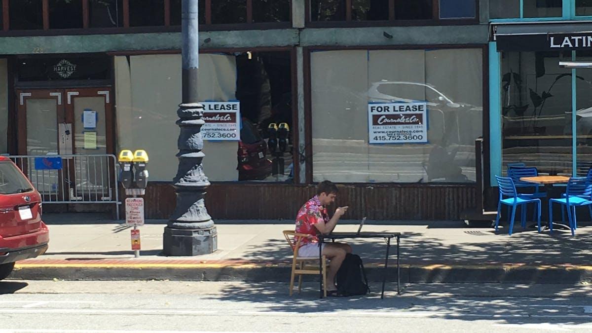 Coworking zu teuer: Freelancer in San Francisco arbeiten jetzt auf Parkplätzen