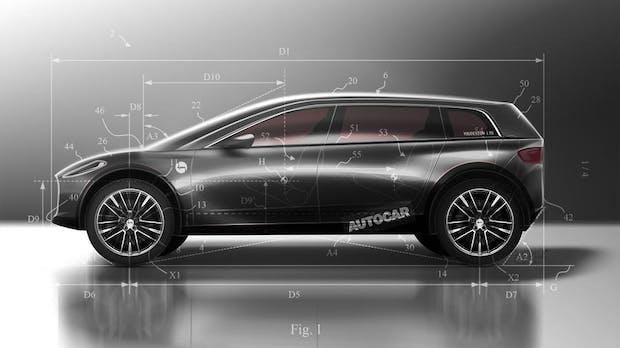 Patente zeigen, wie ein Elektroauto von Staubsaugerkonzern Dyson aussehen könnte