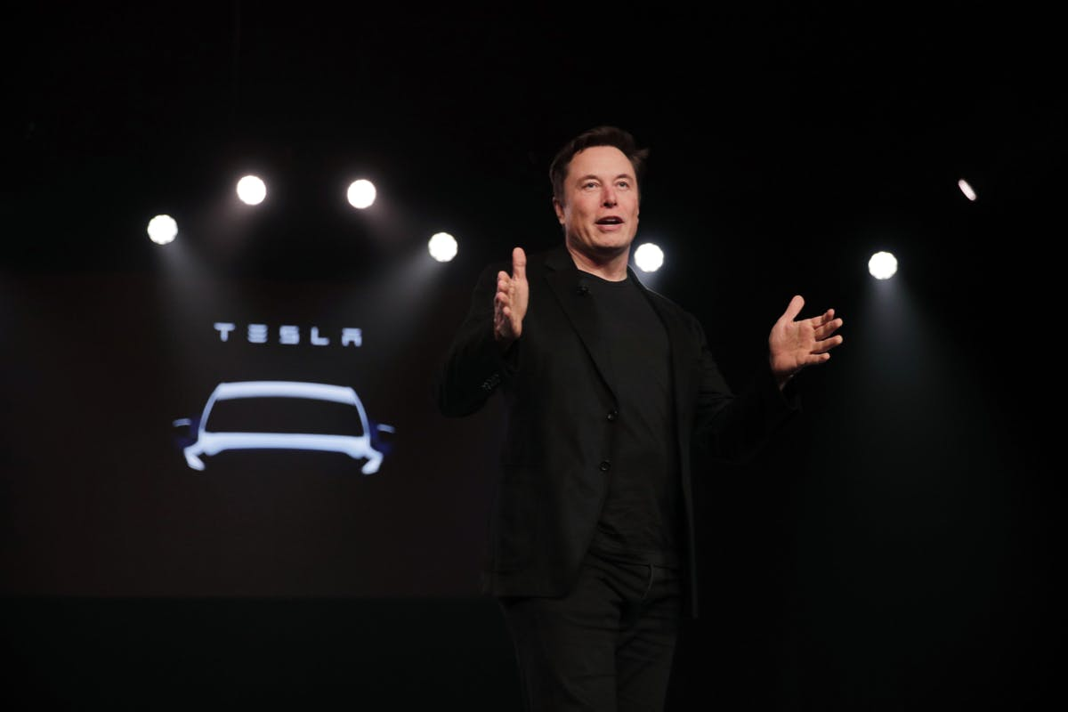 Tesla boss Elon Musk is contrary to popular belief not the founder of the electric car pioneer.  (Photo: dpa)