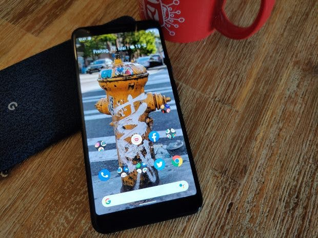 Google Pixel 3a XL. (Foto: t3n)