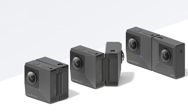 """Insta360 EVO jetzt mit """"unsichtbarem"""" Selfie-Stick"""