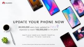 Im Laufe des ersten Halbjahrs 2019 will Huawei 100 Millionen Geräte mit dem Pie-Update versorgen. (Bild: Huawei)