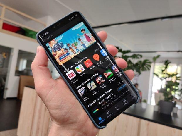 App-Gallery: Die Alternative zu Googles Play Store ist auf Huawei-Gerten schon vorinstalliert. (Foto: t3n)