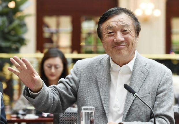 Huawei-CEO Ren Zhengfei (Foto. dpa)