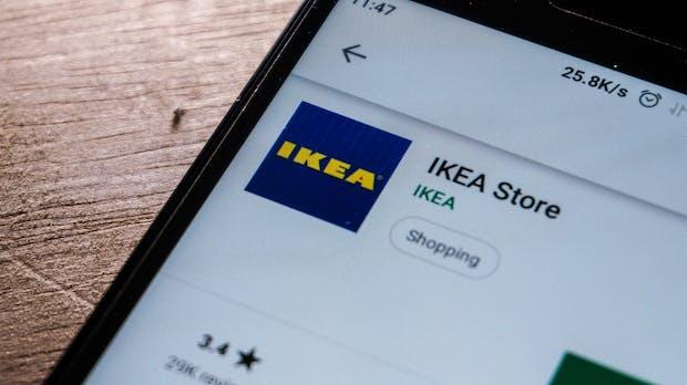 Ikea: Onlineshopping bald auch über mobile Apps möglich