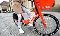 Uber-Tochter Jump geht in Berlin mit 1.000 Elektromieträdern an den Start