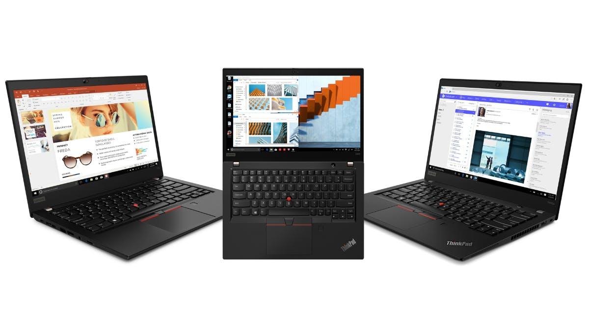 Lenovo-Notebooks: Thinkpad X395, T495 und T495s mit AMD-Ryzen-Chips kommen im Sommer