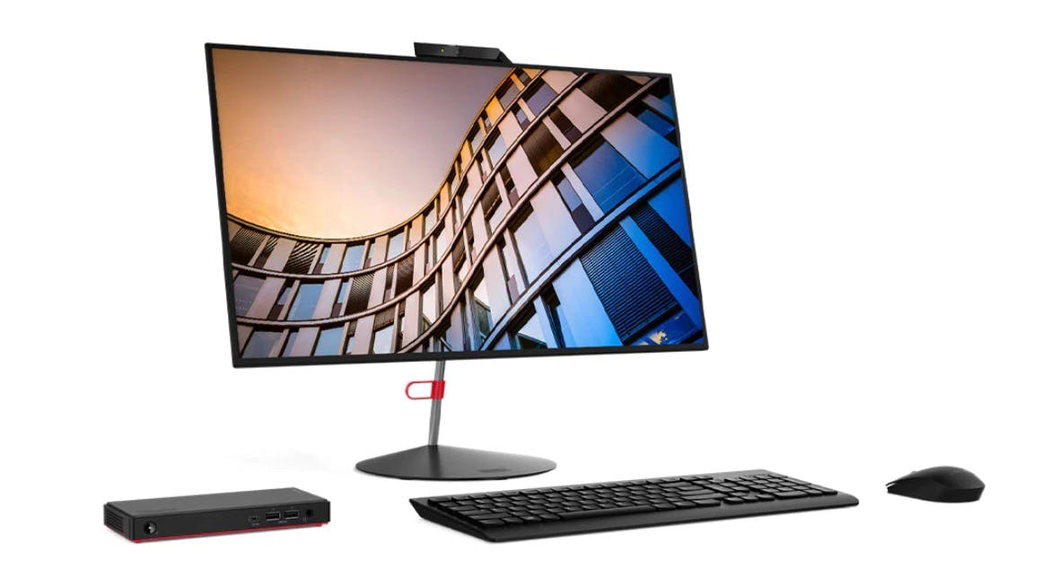 Thinkcentre Nano M90n: Lenovo baut Mini-Desktop-PC