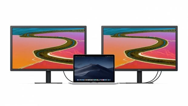 23,7-Zoll LG UltraFine 4K Display. (Bild: Apple; LG)