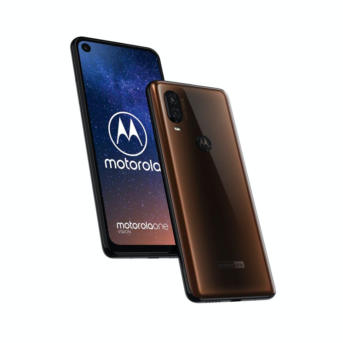 Motorola One Vision.  (Image: Motorola)