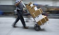 Schlecht bezahlte Paketboten schaden dem Onlinehandel