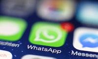 Nach Einschränkungen: Weitergeleitete Nachrichten bei Whatsapp stark gesunken
