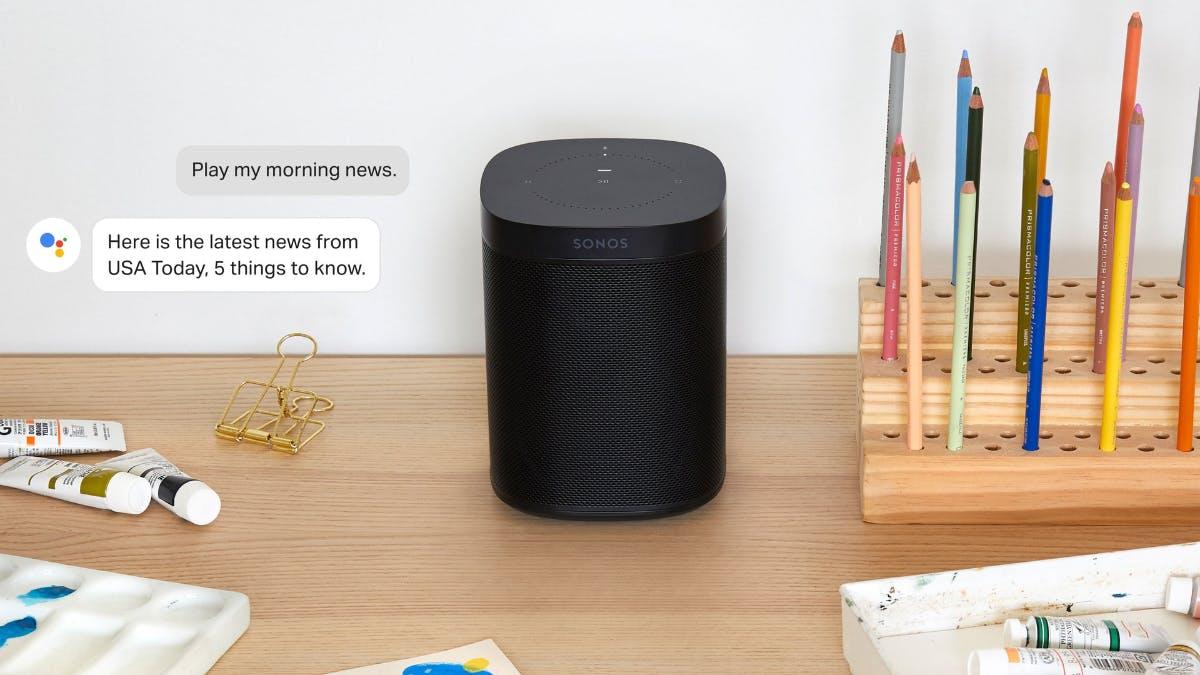 Sonos One und Beam: Der Google Assistant kommt im Juli per Update