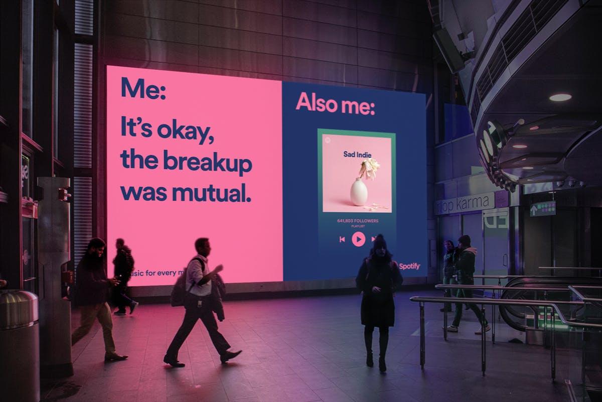 Starke Ad-Kampagne von Spotify: Die Streaming-App setzt voll auf Memes