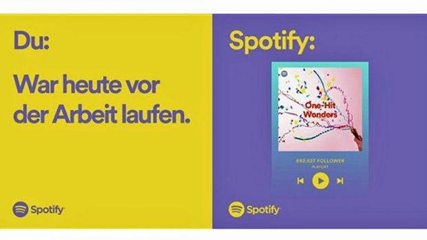 Meme-Kampagen von Spotify