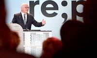 Bundespräsident Steinmeier fordert auf der Republica bessere Debatten im Internet