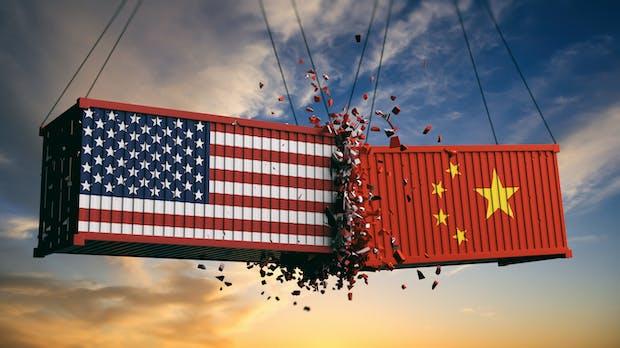 Handelsstreit zwischen China und den USA belastet europäische Firmen