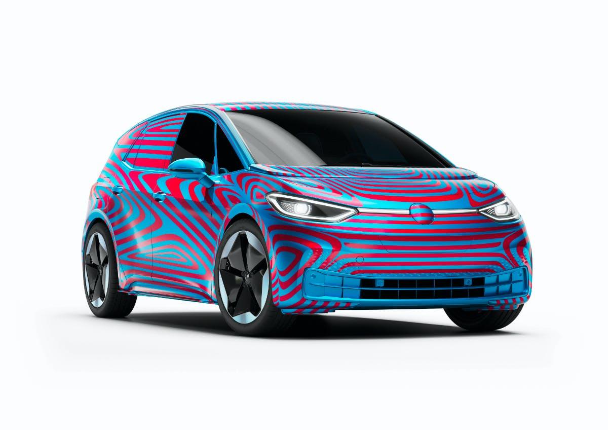 VW ID3. (Bild. VW)