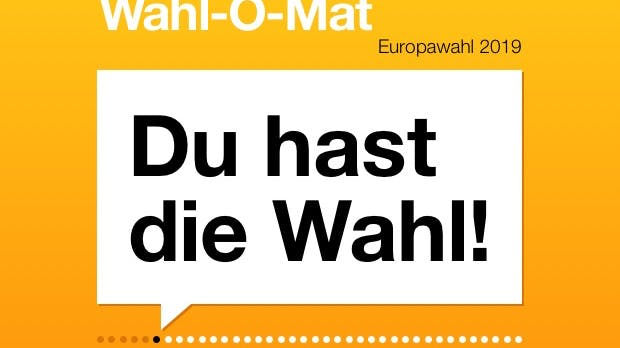 Wahl-O-Mat zur Europawahl ist online