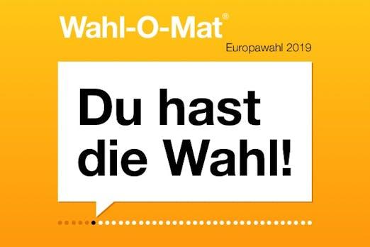 Wahl-O-Mat zur EU-Wahl 2019 nach Gerichtsentscheid offline